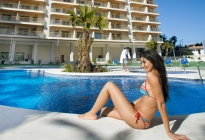 A fantastic complex of apartments for sale in Calpe, Costa Blanca, located by Levante beach, near th